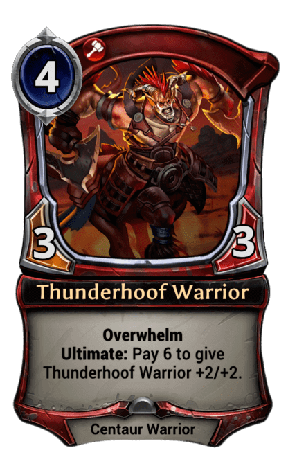 Card image for Thunderhoof Warrior