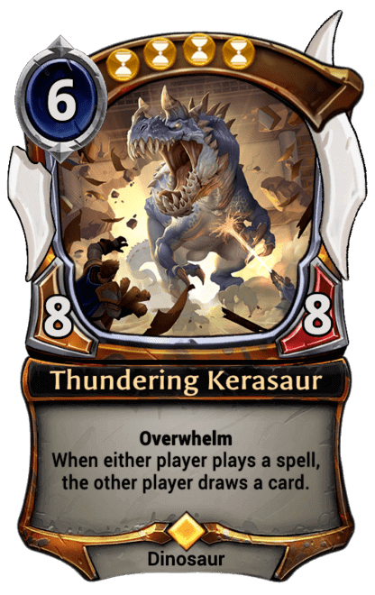 Card image for Thundering Kerasaur