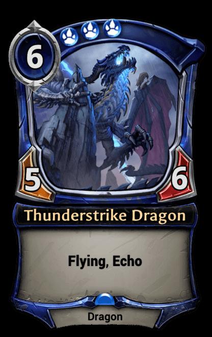 Card image for Thunderstrike Dragon