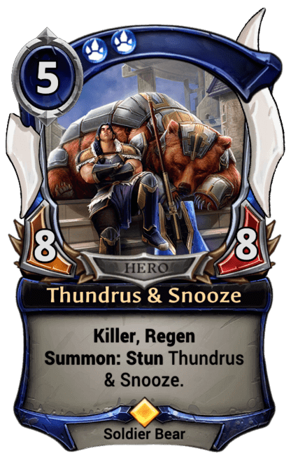 Card image for Thundrus & Snooze