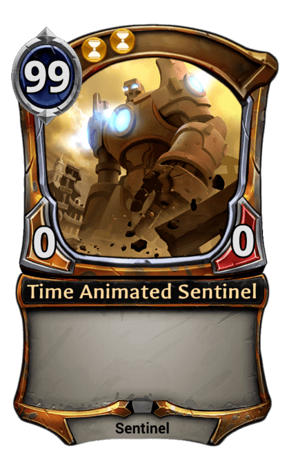 Card image for Time Animated Sentinel