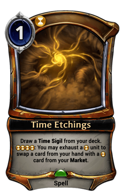 Card image for Time Etchings