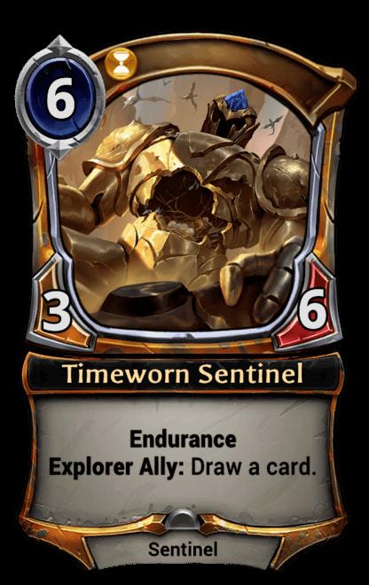 Card image for Timeworn Sentinel