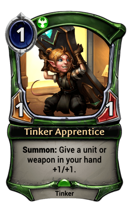 Card image for Tinker Apprentice