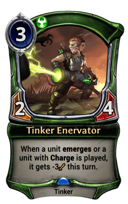 Card image for Tinker Enervator