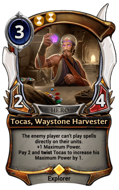 Card image for Tocas, Waystone Harvester