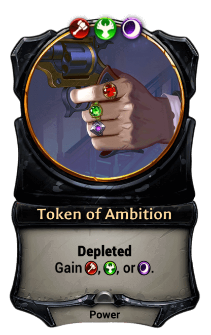 Card image for Token of Ambition