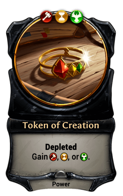 Card image for Token of Creation