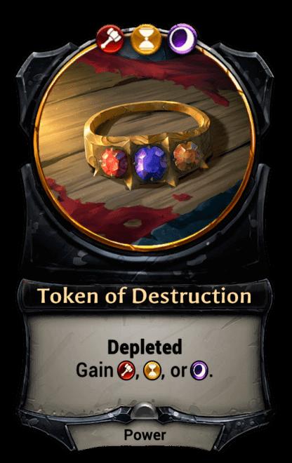 Card image for Token of Destruction