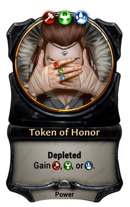 Card image for Token of Honor