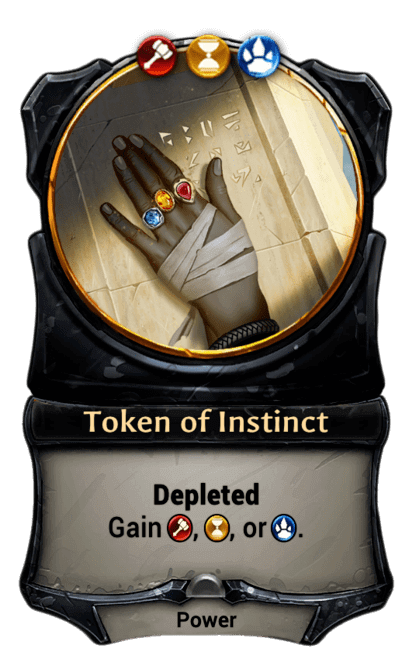 Card image for Token of Instinct