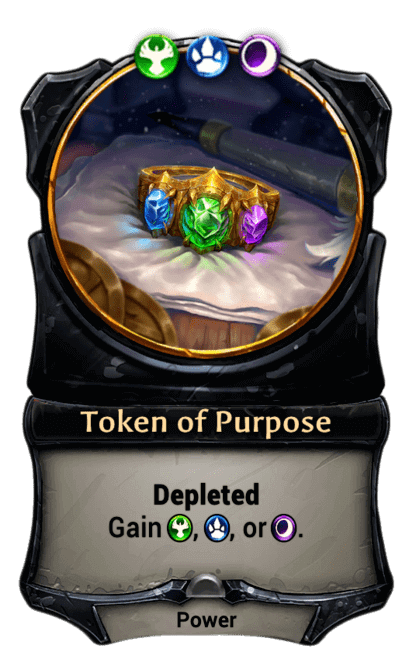 Card image for Token of Purpose