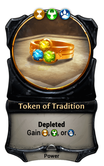 Card image for Token of Tradition