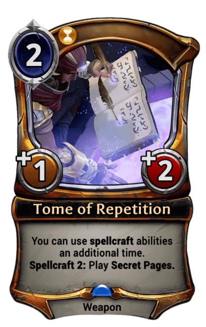 Card image for Tome of Repetition