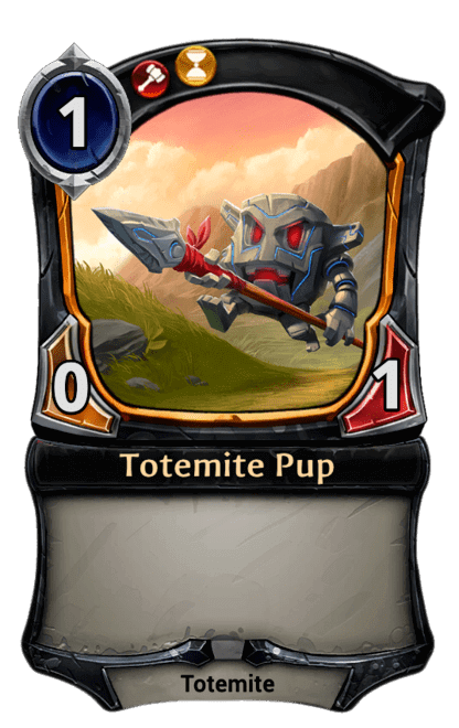 Card image for Totemite Pup