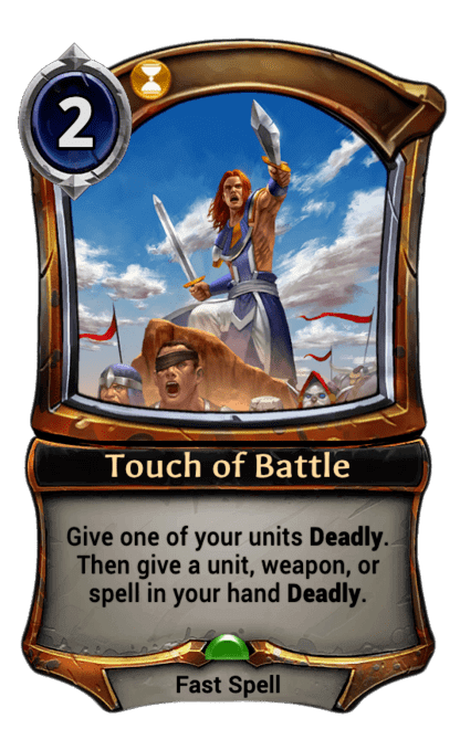 Card image for Touch of Battle