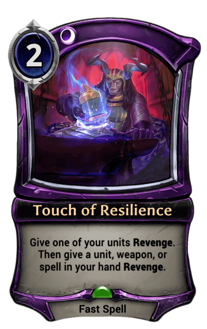 Card image for Touch of Resilience