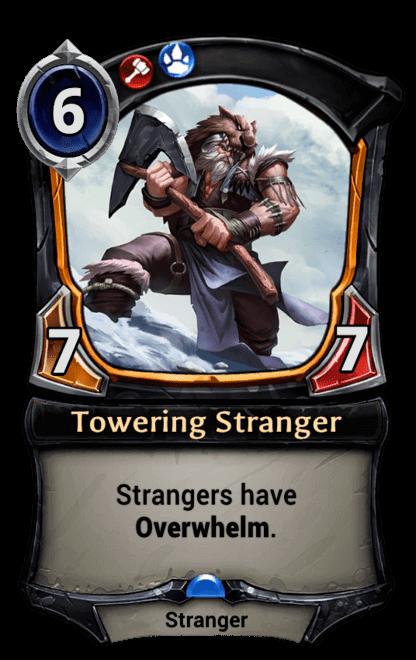 Card image for Towering Stranger