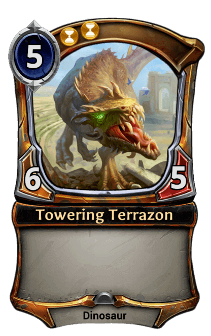 Card image for Towering Terrazon