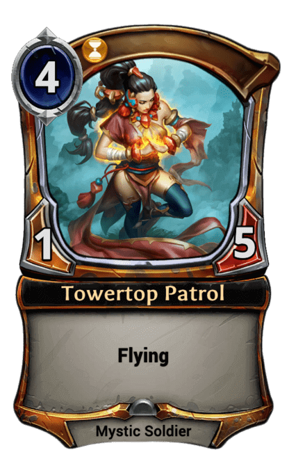 Card image for Towertop Patrol