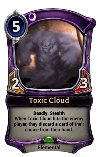 Card image for Toxic Cloud