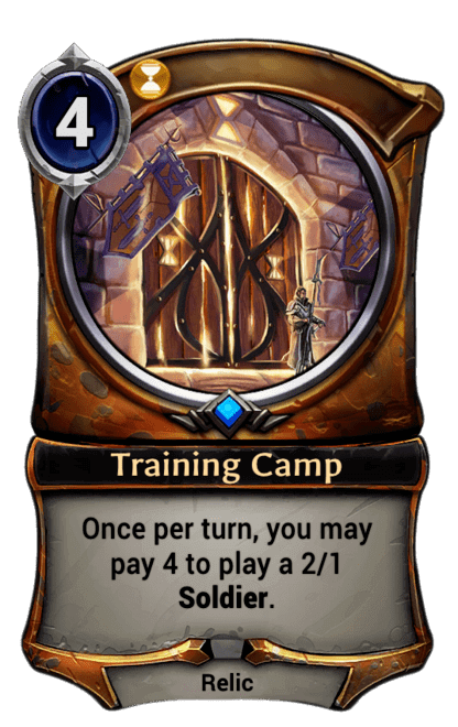 Card image for Training Camp