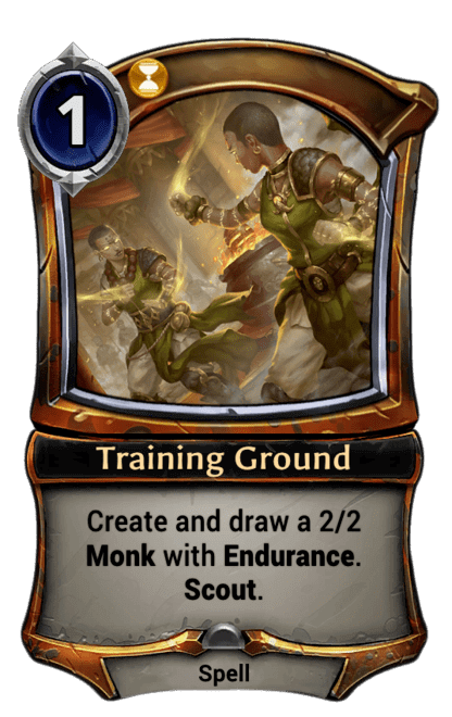 Card image for Training Ground