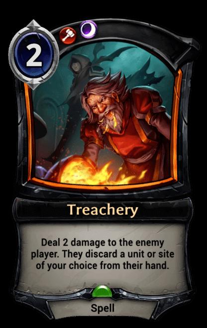 Card image for Treachery