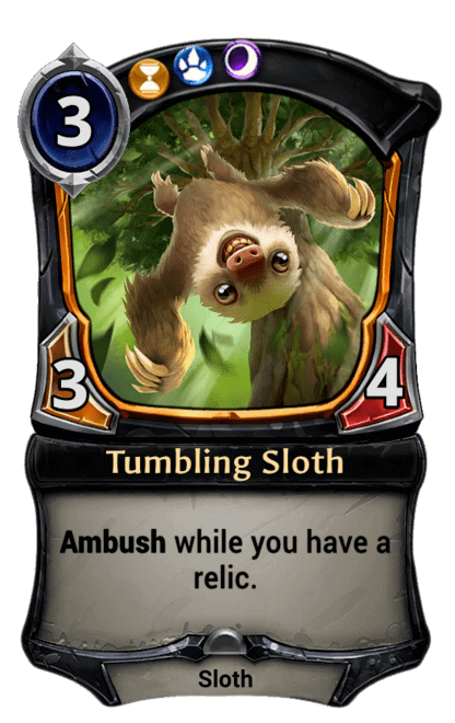 Card image for Tumbling Sloth