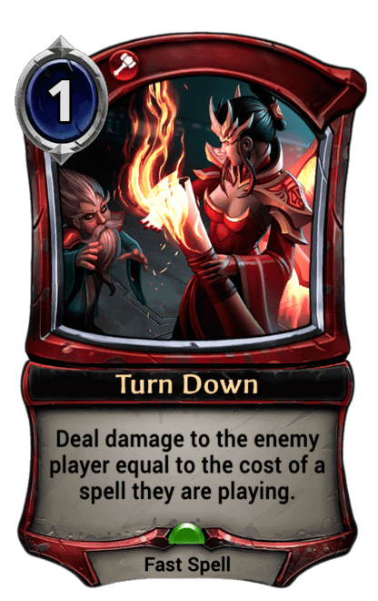 Card image for Turn Down