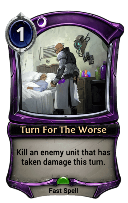 Card image for Turn For The Worse
