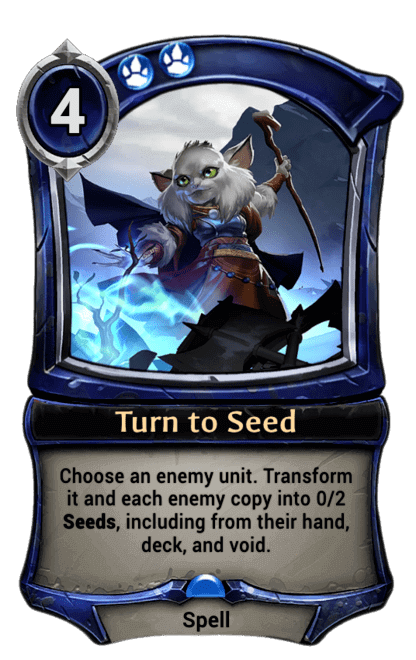 Card image for Turn to Seed