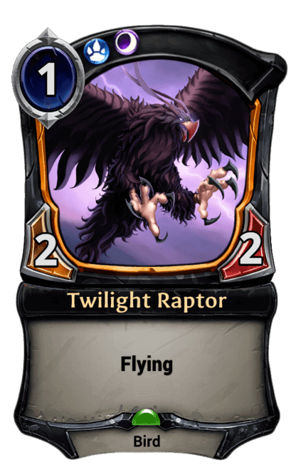 Card image for Twilight Raptor