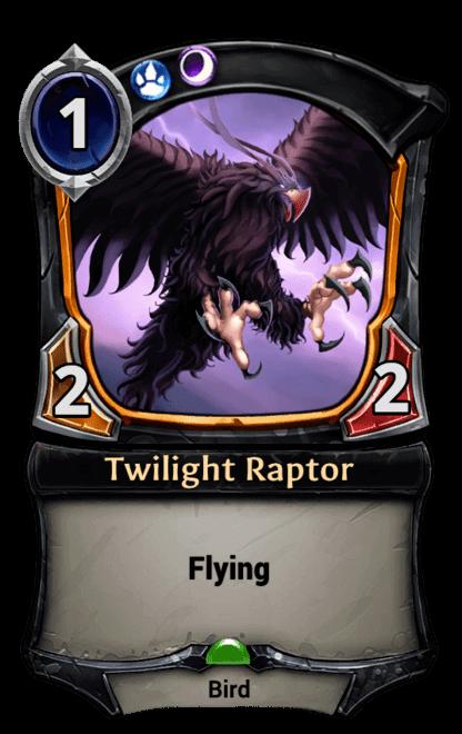 Card image for Twilight Raptor