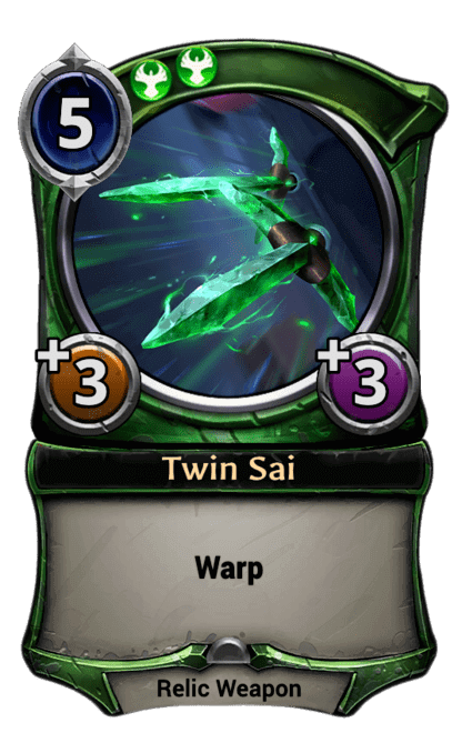 Card image for Twin Sai
