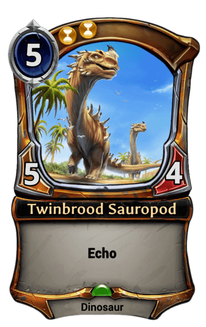 Card image for Twinbrood Sauropod