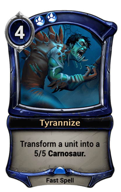 Card image for Tyrannize