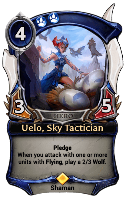 Card image for Uelo, Sky Tactician