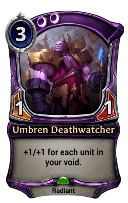 Card image for Umbren Deathwatcher