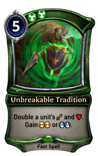 Card image for Unbreakable Tradition