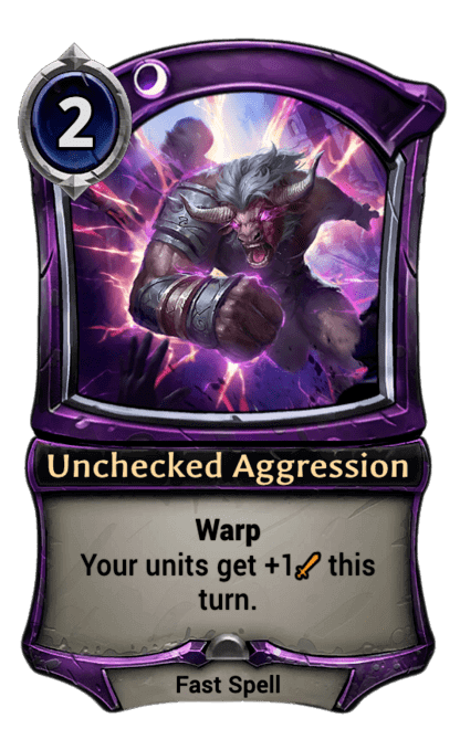 Card image for Unchecked Aggression
