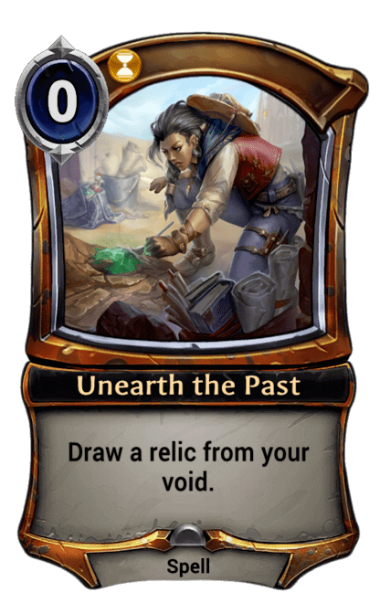 Card image for Unearth the Past