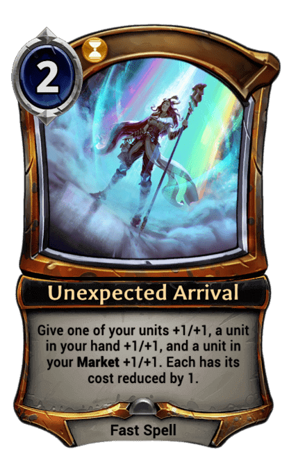Card image for Unexpected Arrival