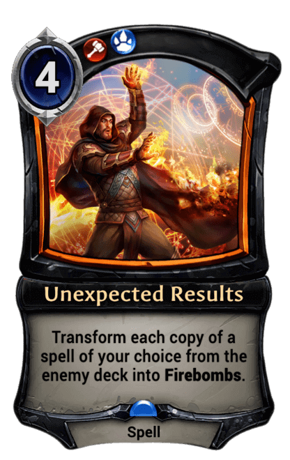Card image for Unexpected Results