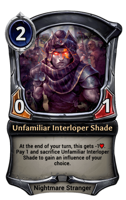 Card image for Unfamiliar Interloper Shade