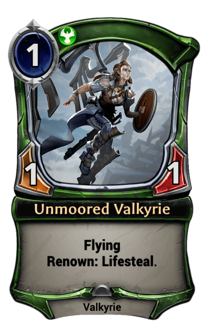 Card image for Unmoored Valkyrie