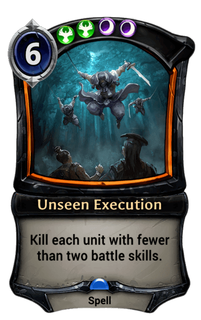 Card image for Unseen Execution