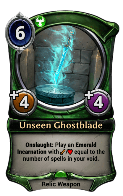 Card image for Unseen Ghostblade