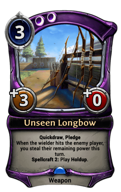 Card image for Unseen Longbow