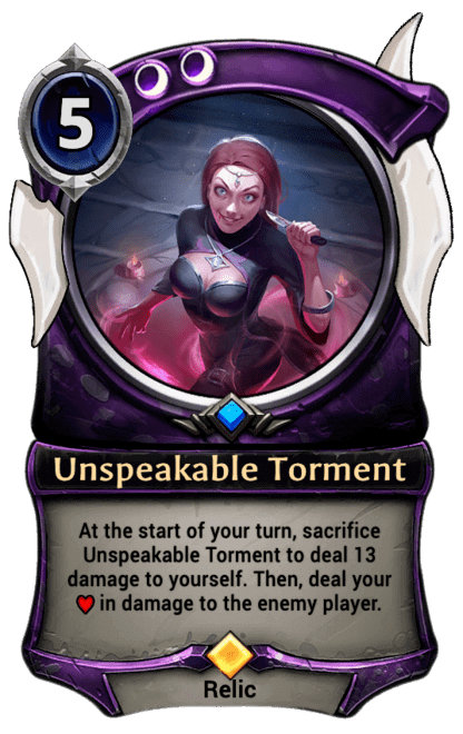 Card image for Unspeakable Torment